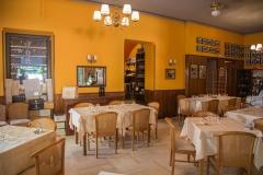 La sala interna - Ristorante Bilacus Bellagio