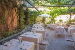 La terrazza esterna - Ristorante Bilacus Bellagio